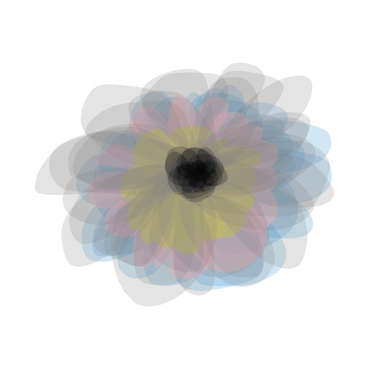 Abstract flower, modern art - abstractart - seamlessdigital | ello
