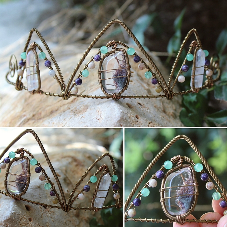 Guys!!!! Check Crystal Crown wh - moongoddessvibes | ello
