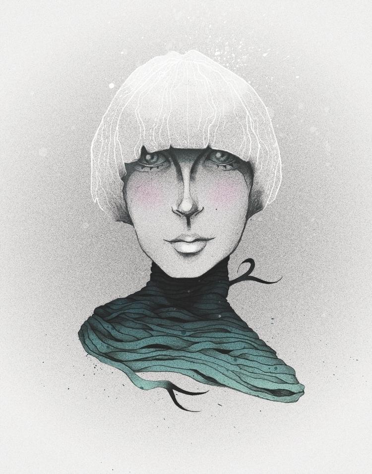 Face Study - 2, illustration, handdrawn - heyinstigator | ello