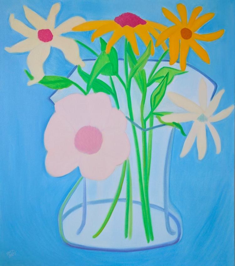 Mixer oil/canvas, 50x44 - art, artists - markbarry | ello