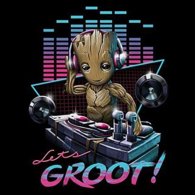 Groot! Enjoy weekend! Art Vince - fabimo   ello