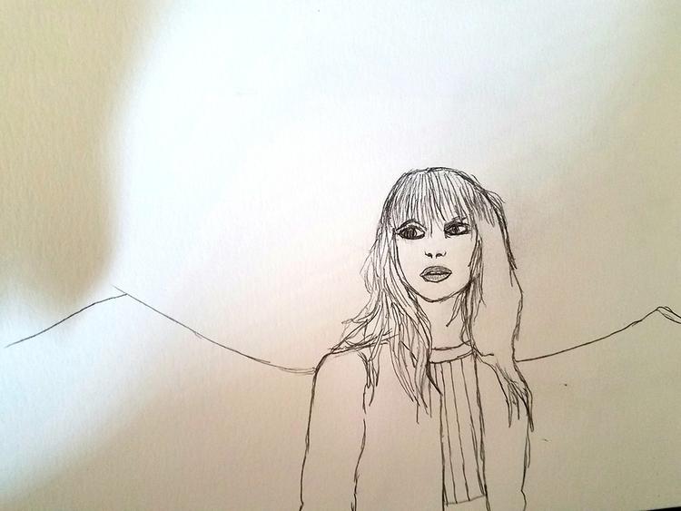 fear - hayleywilliams, drawing - andaelentari | ello