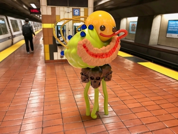 BART Buddy sculpted rendered - JOYworld - joy | ello