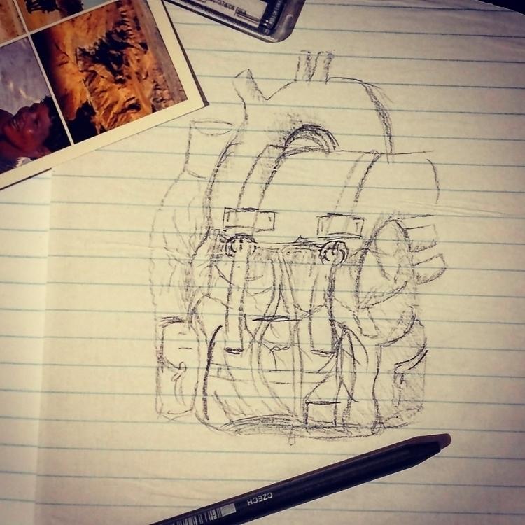 matter - happyscreativity, heart - happyscreamer | ello