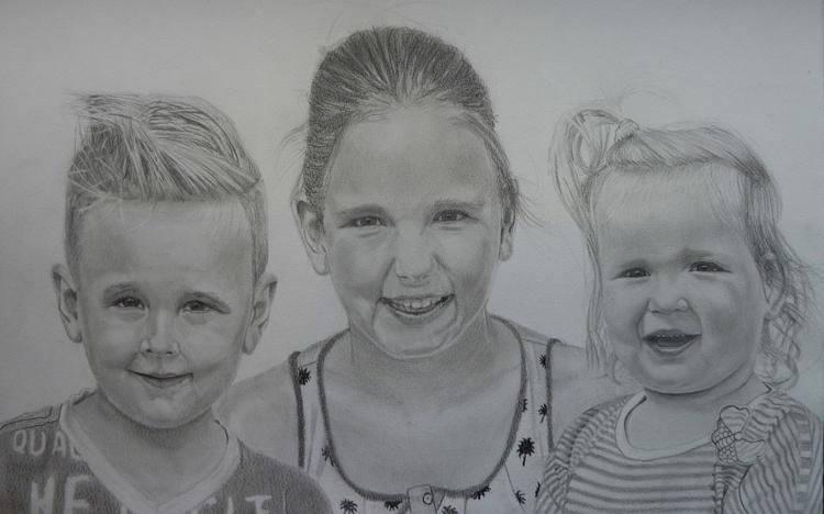 Portrait 3 kids client wanted p - casdouwsma | ello