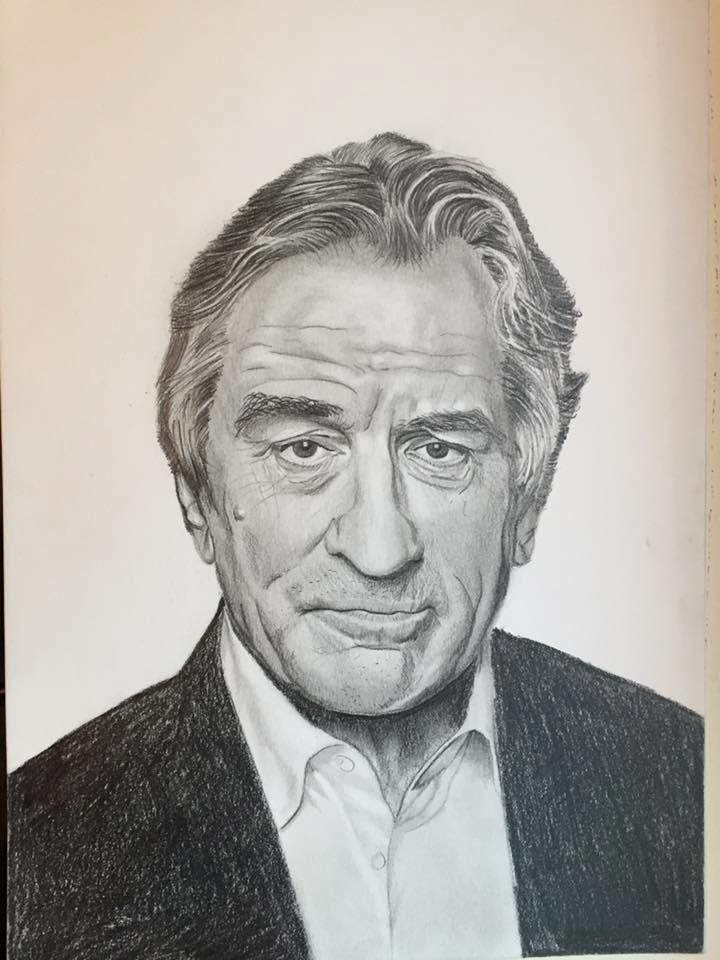 Portrait Robert Deniro - casdouwsma | ello