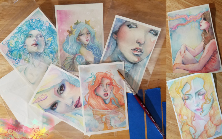 Watercolour paintings. newest c - tracy_eire | ello