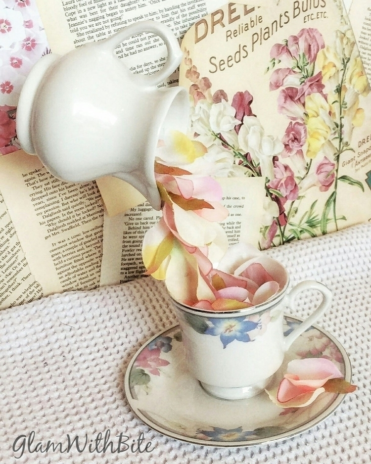 custom pretty milk jug teacup s - glamwithbite | ello
