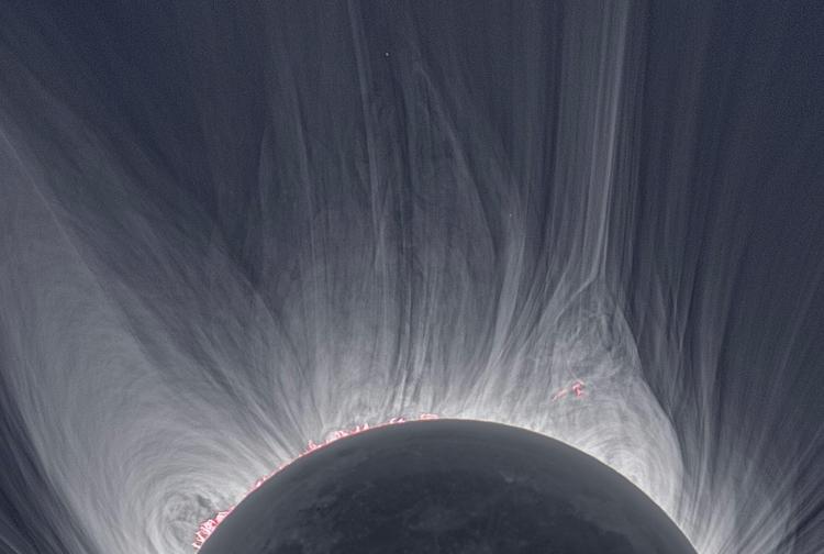 Solar Eclipse Corona - sun, moon - valosalo   ello