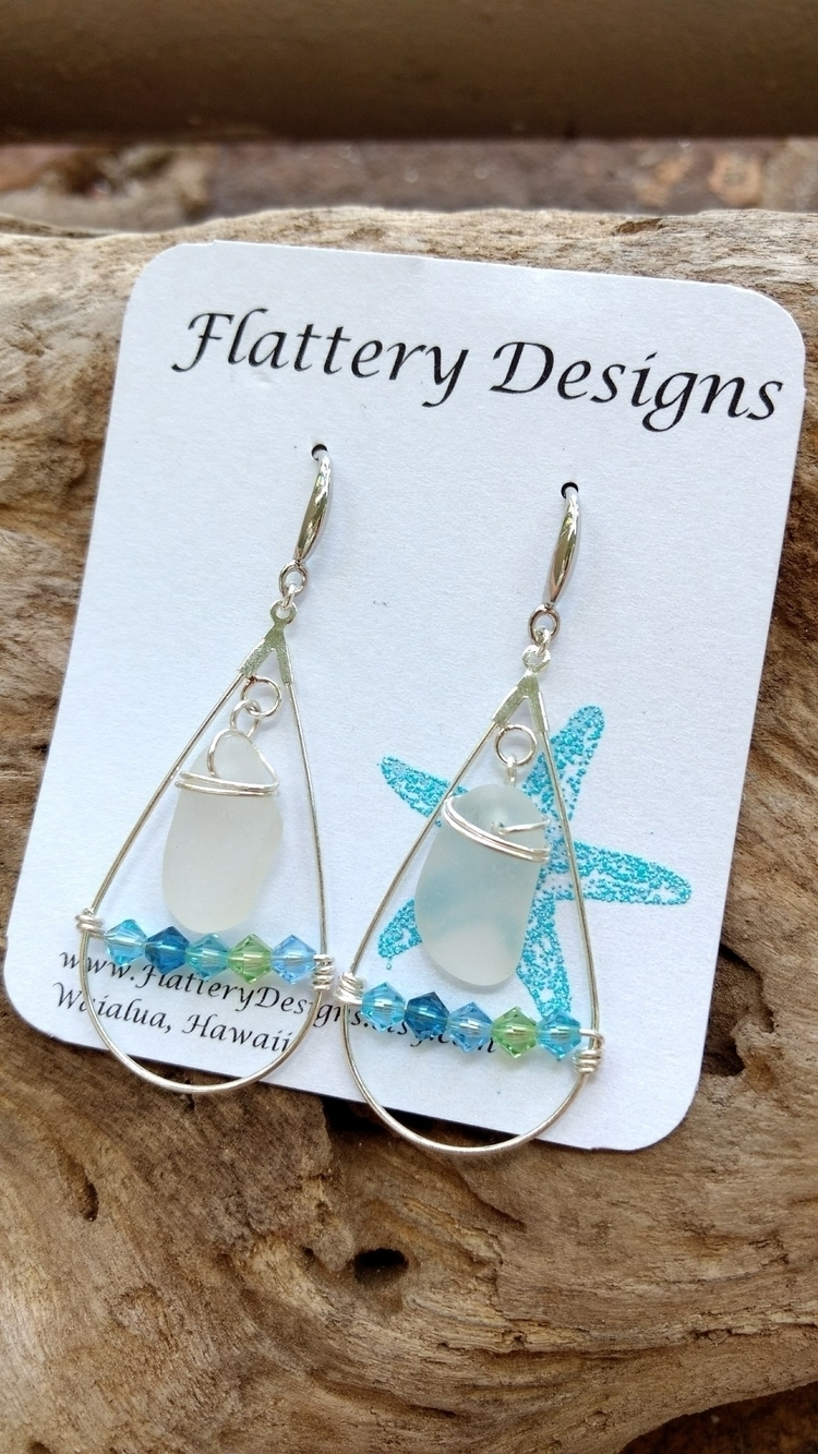 Gorgeous Hawaiian Sea Glass Ear - flatterydesigns | ello