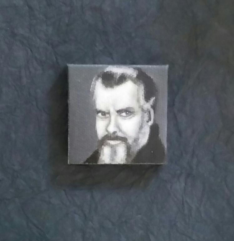 Mini portrait Orson Welles Amer - nora_ | ello