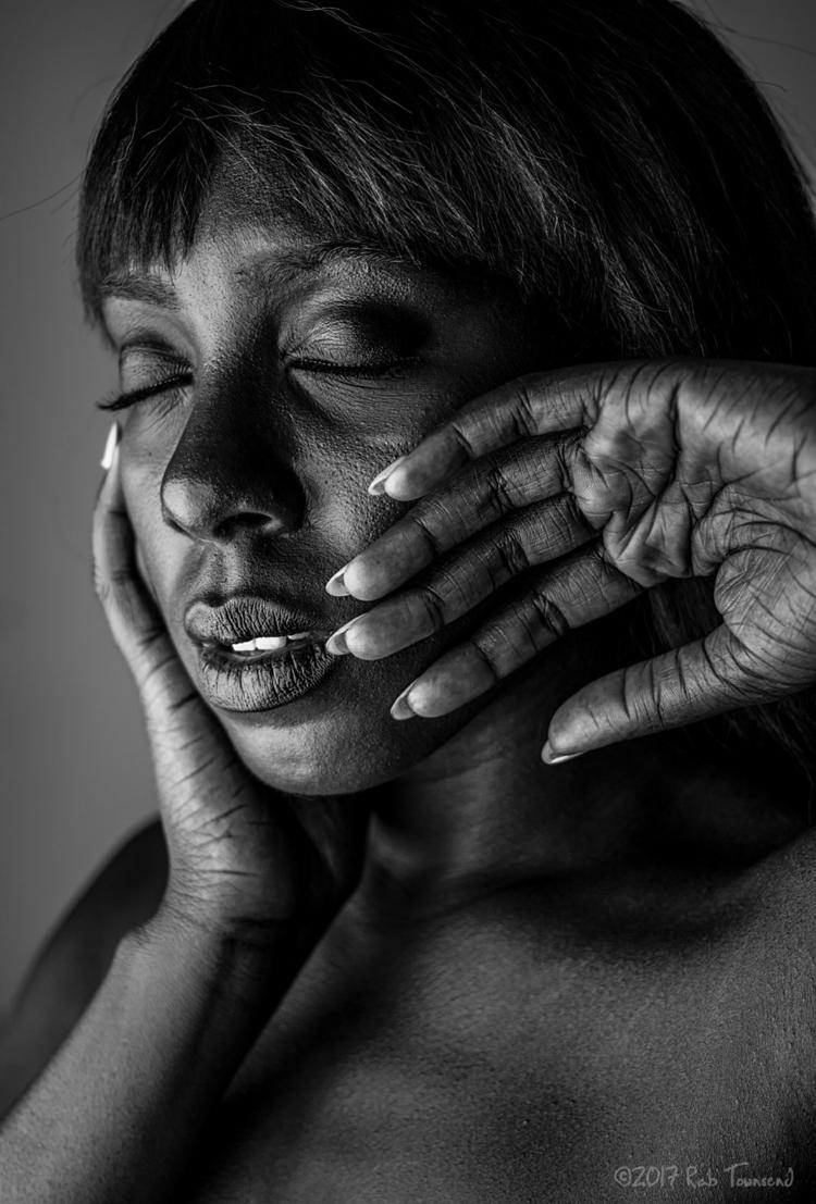 black white portrait series IV  - rabtownsend   ello