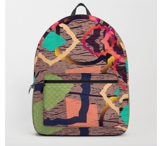 Check backpack designs!:hugging - trinkl | ello