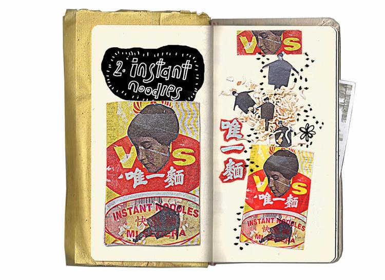collage, sketchbook - zilinyee | ello