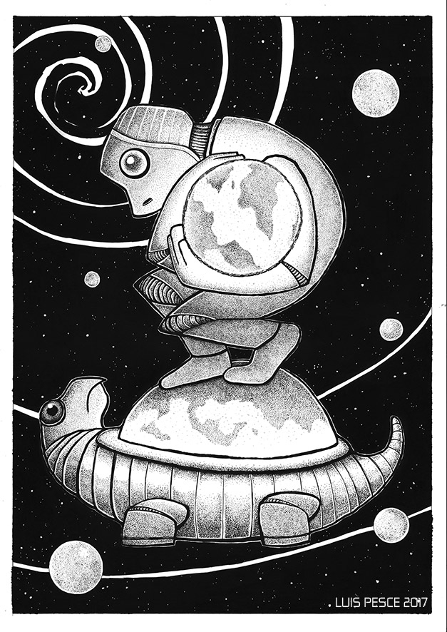 01 - Génesis - art, robot, illustration - luispesce | ello