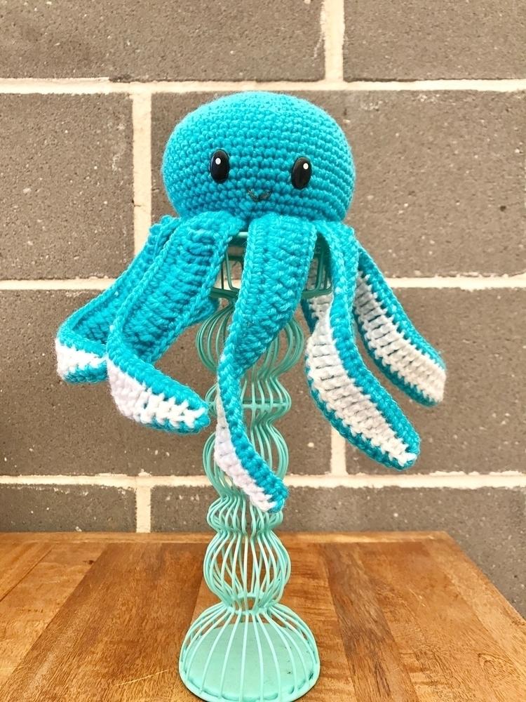 awesome critter- 11cm octopus 1 - kshandmadelove | ello