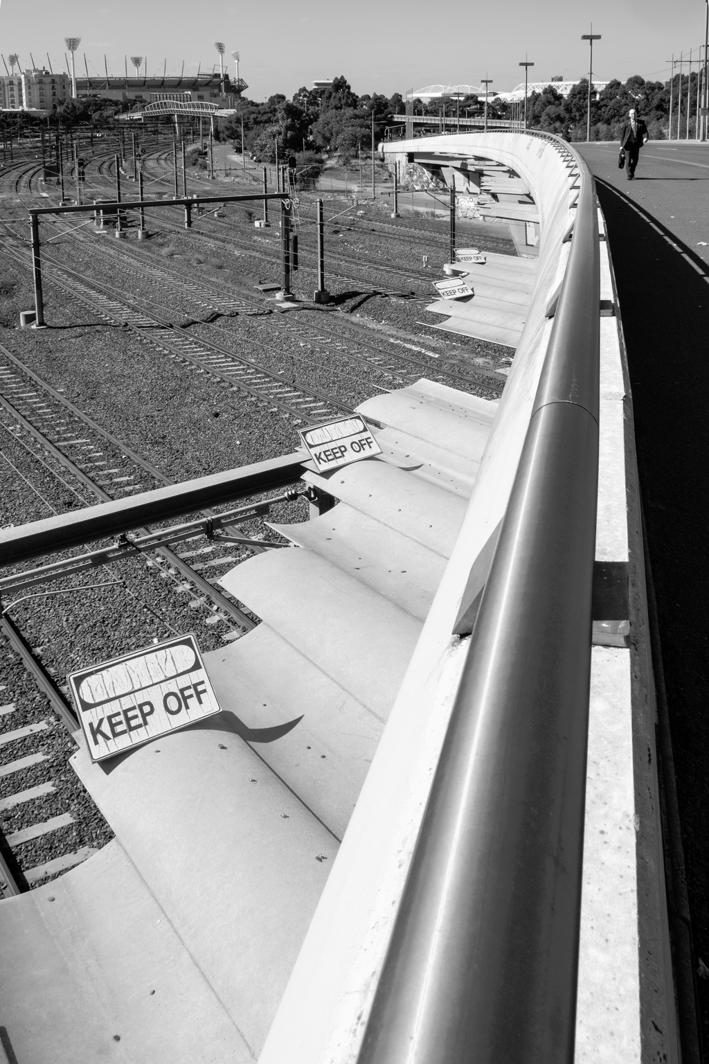 Flinders St Railway Yards MCG - fujifilm - tedhamilton | ello
