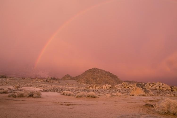 sunrise rainbow - adventure, travel - madelinejean | ello