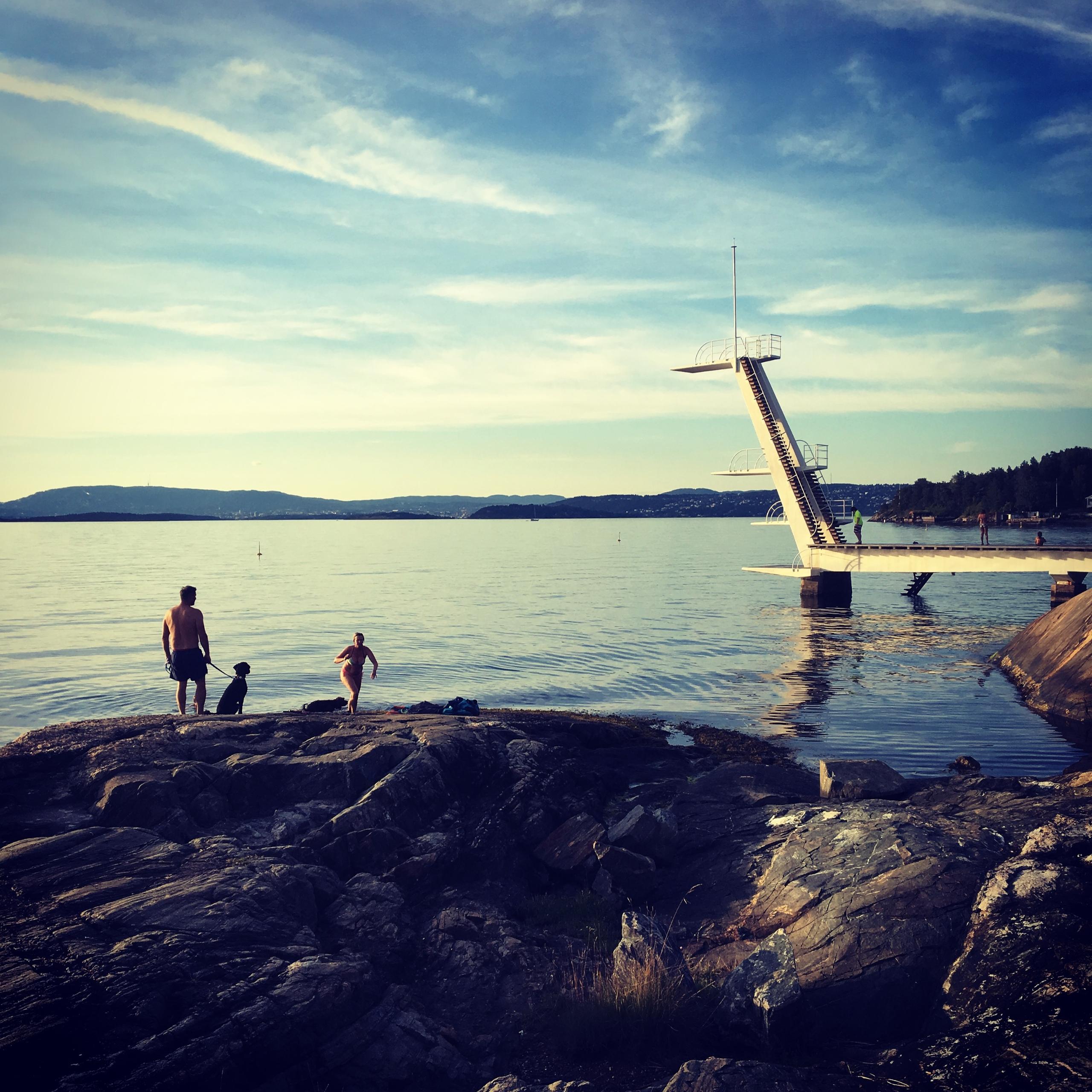 Ingierstrand bath place swiming - stigergutt | ello