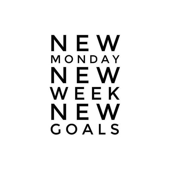 week. goals - besomebody, MondayMotivation - esquirephotography | ello