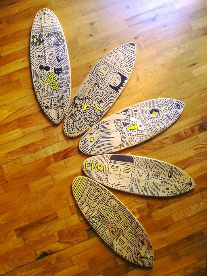Serie Lecinquetavole - boards S - meriocipriano | ello