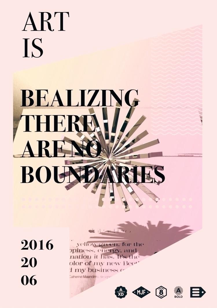 _Art realizing boundaries_ Art  - cgwarex | ello