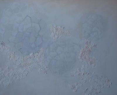 2015 Beeswax gesso canvas - meatballvizzy | ello