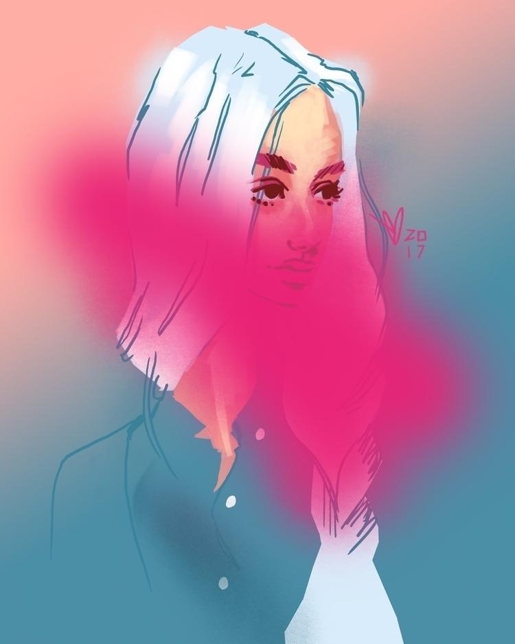 pink, blonde, platinum - evandileo | ello