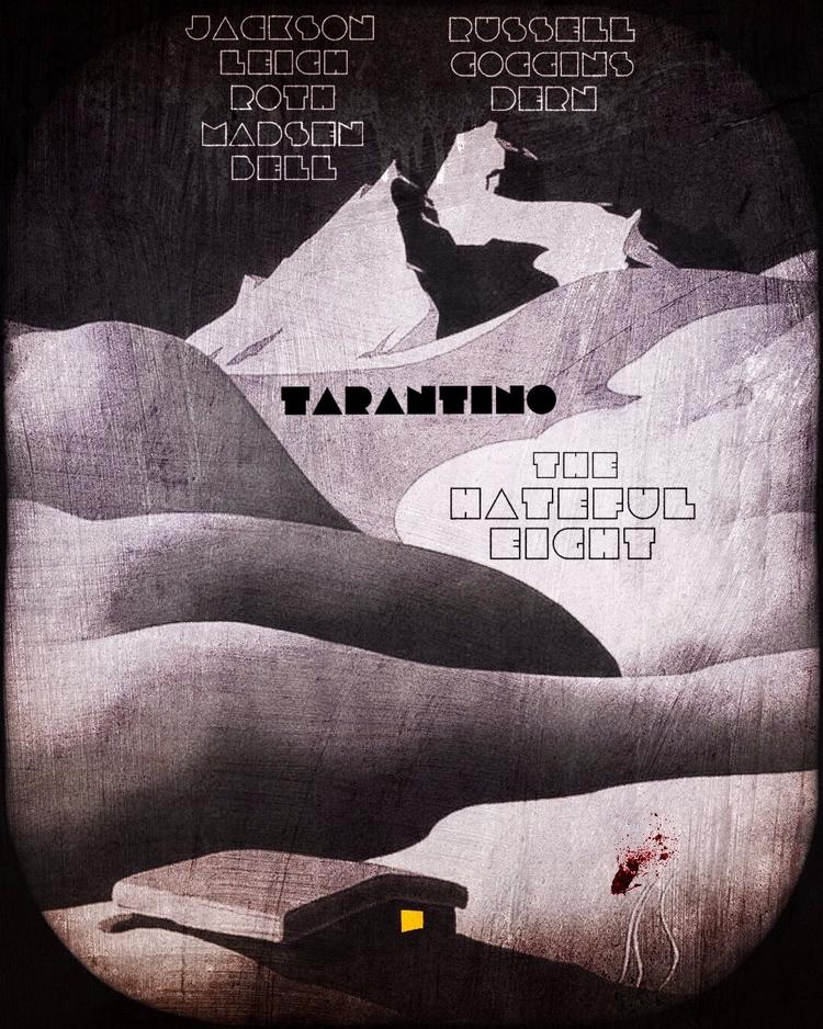Hateful - poster, design, variant - pinheiro | ello