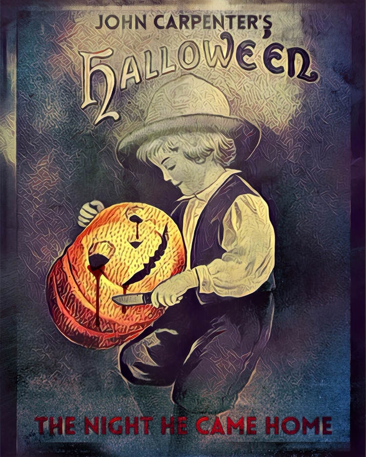Halloween - poster, design, variant - pinheiro | ello
