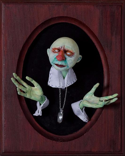 series Zombienose sculptures de - zombienose | ello