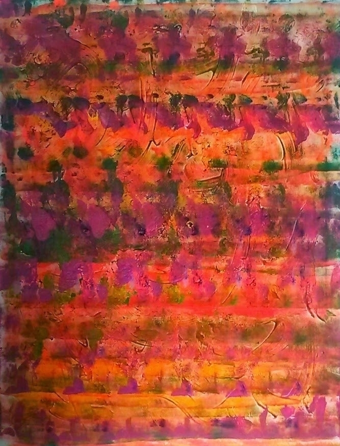 Acrylic canvas - art, painting, abstract - theceline | ello