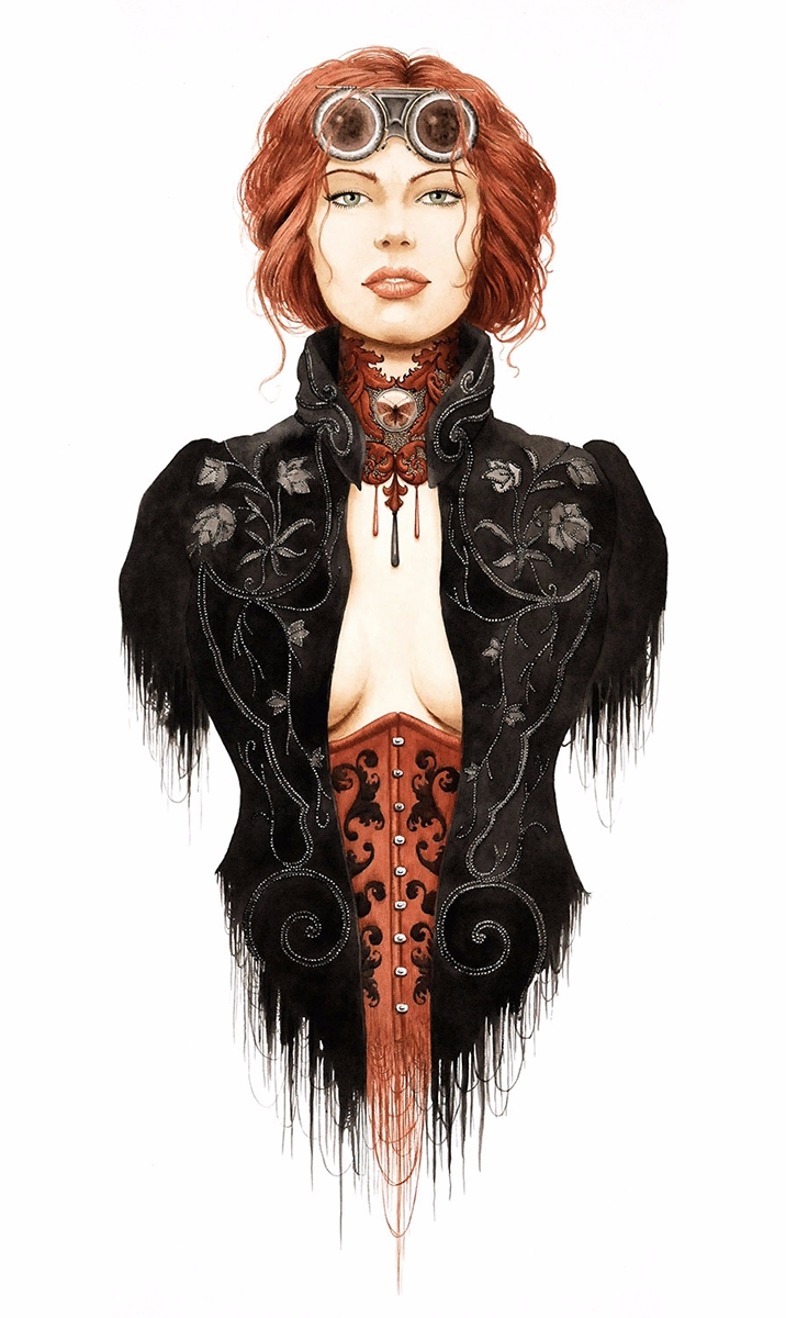 — Illustrator:Grégory Delau - DarkBeauty - darkbeautymag | ello