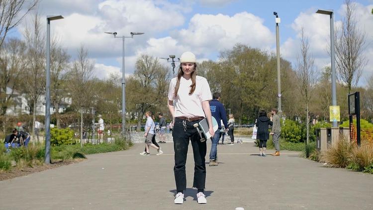 BRICKS Meets Skateboarder Josie - toriwest | ello