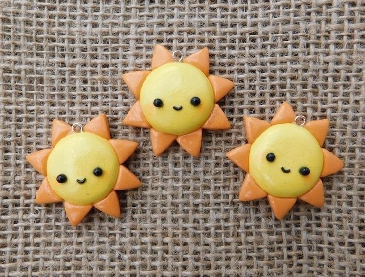 super cute sparkling sun charms - zendaisystudios | ello