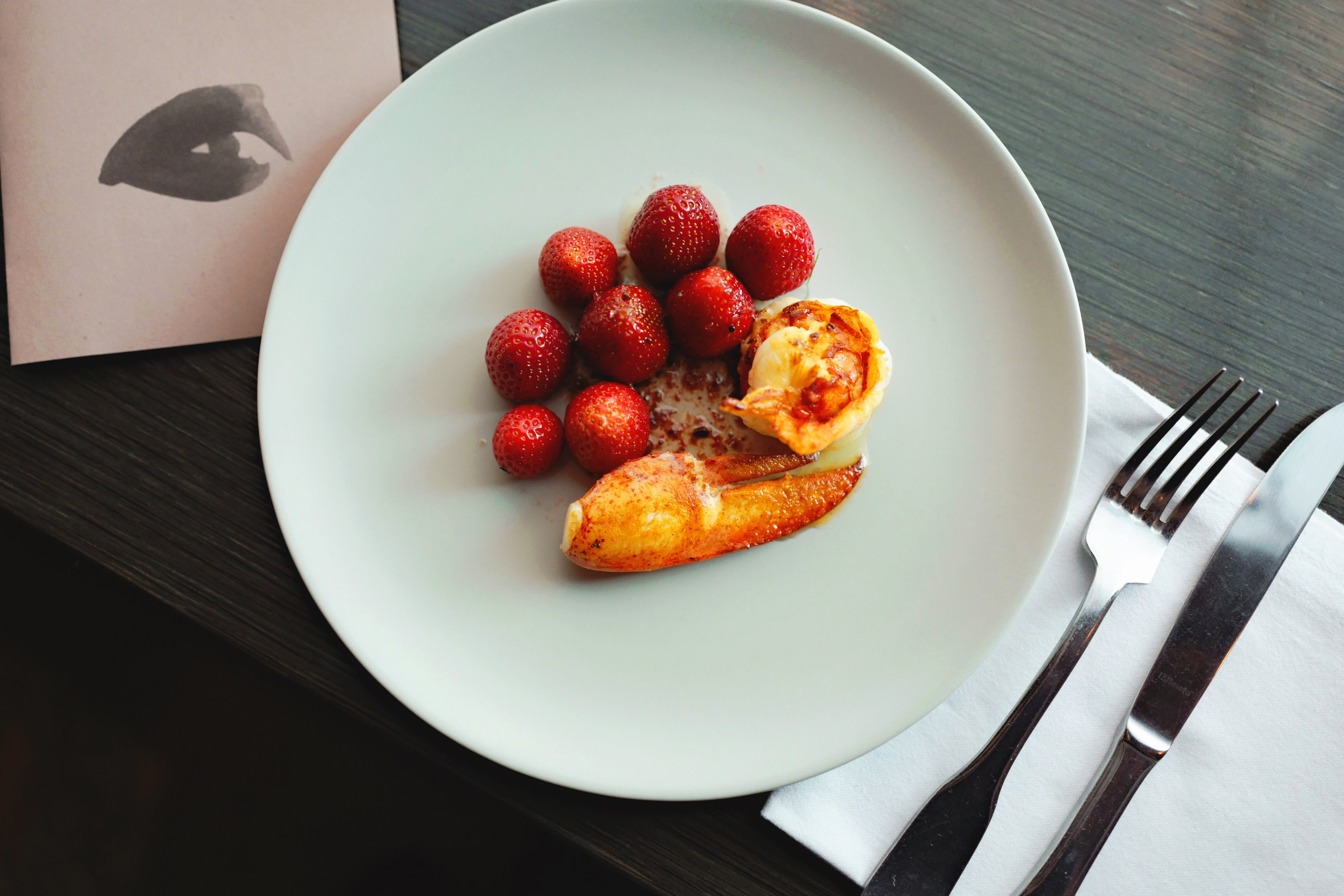 Langoustine fresh strawberry Ge - danielkrieger | ello
