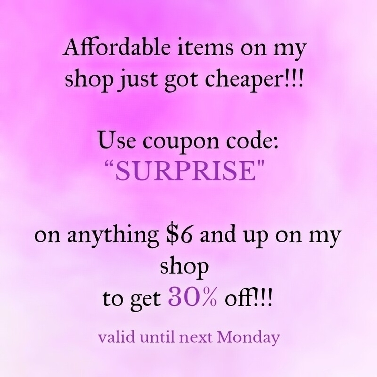sweet sale shop!!! coupon code  - thoughtsofadreamer | ello