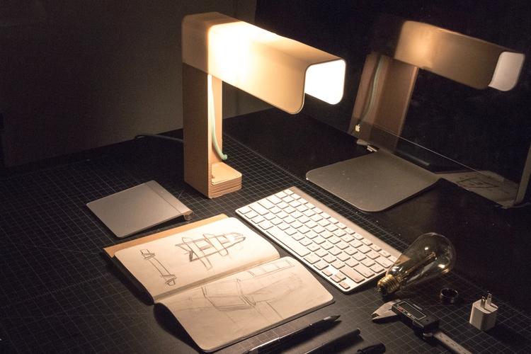 INFUSE Lamp. designer Chris Fer - letsdesigndaily | ello