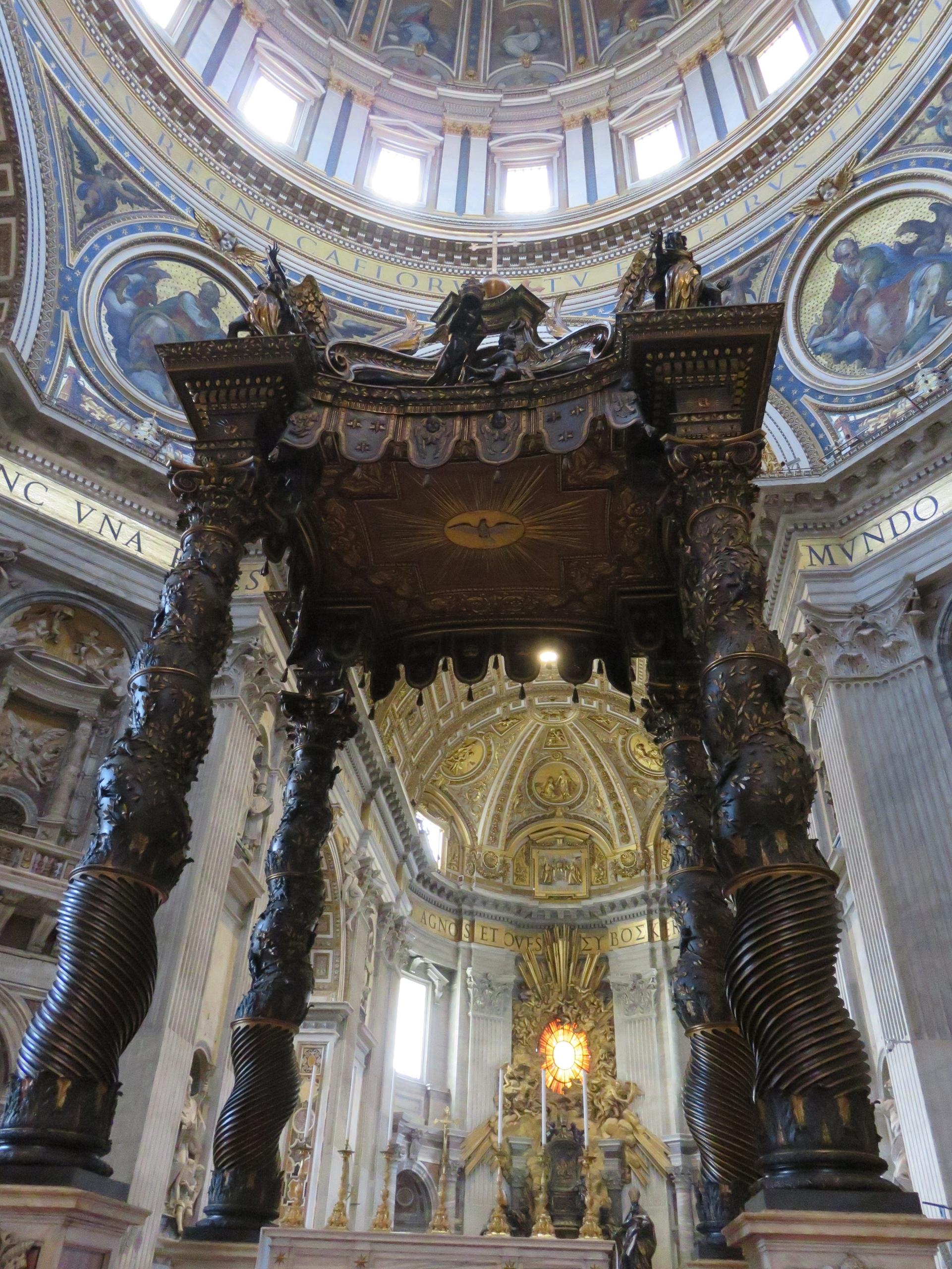StPetersBasilica, Vatican, Catholic - sanftekuss | ello