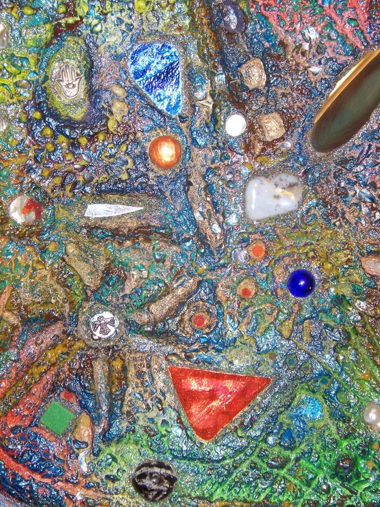 Earth Stone Spirit House Art Su - artfuldogger   ello