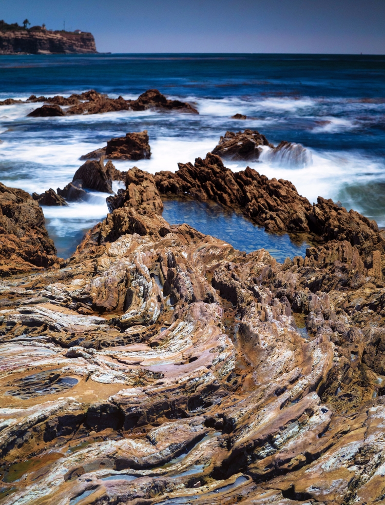 Sweeping rock formation leading - toddhphoto | ello