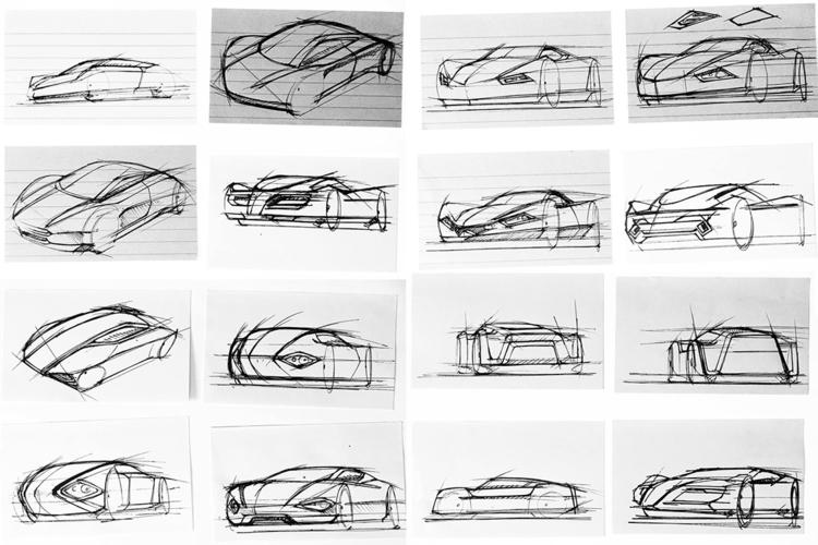 Automotive thumbnail sketches w - jamesowendesign | ello