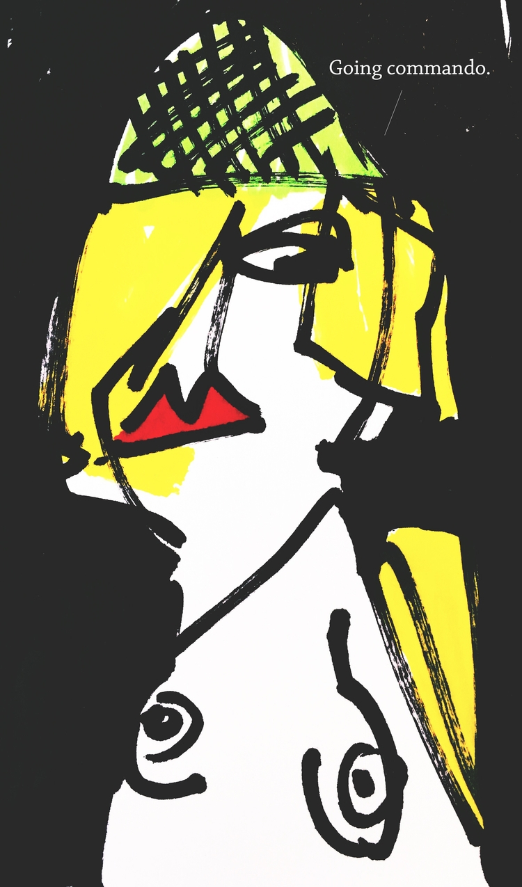 art, illustration, cartoon, BananaArms - jkalamarz   ello