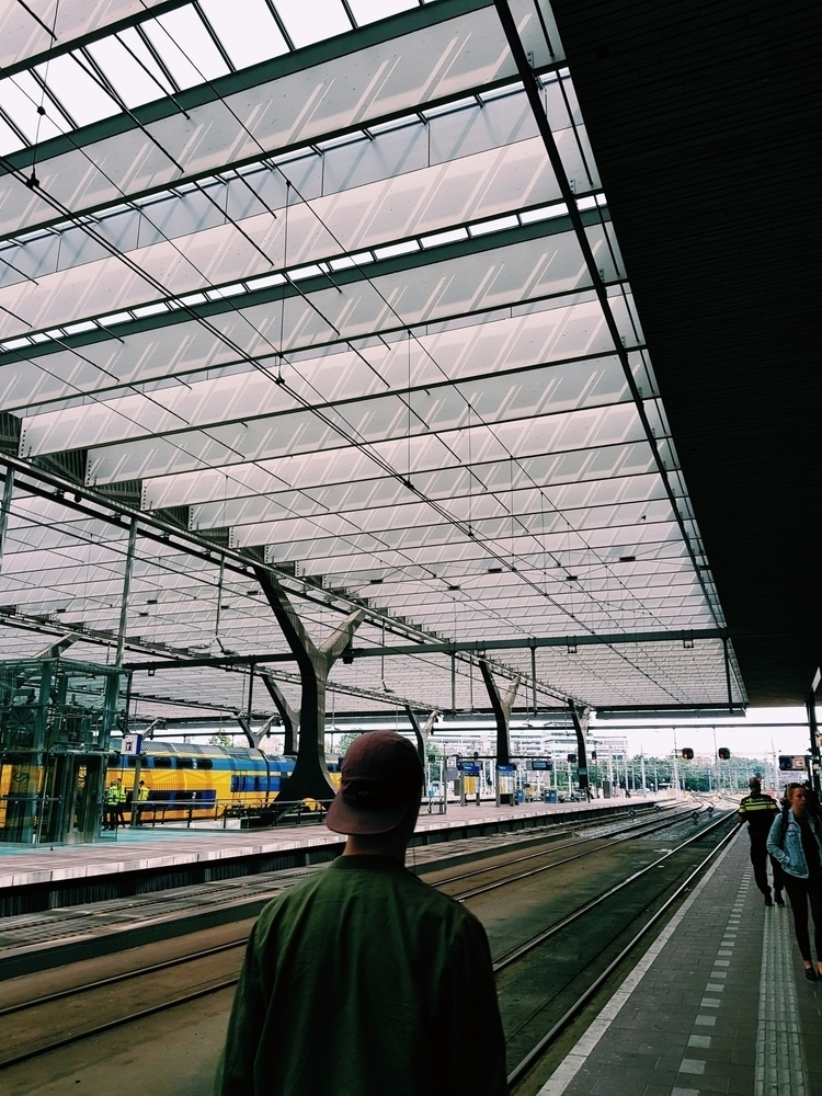 Rotterdam Centraal Station. IG - idjphotography | ello