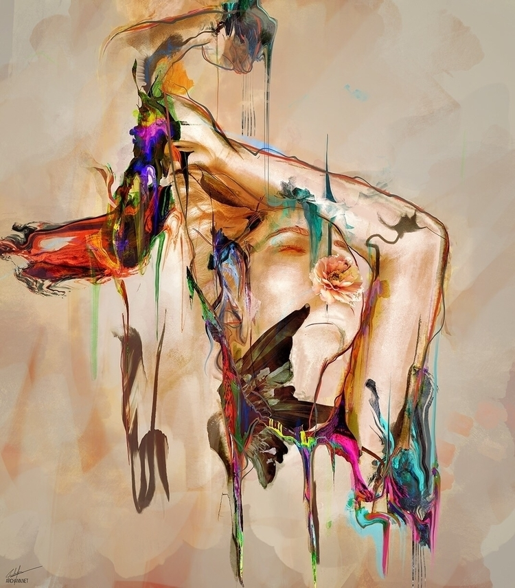 Empty - art, illustration, artistsonello - archannair | ello