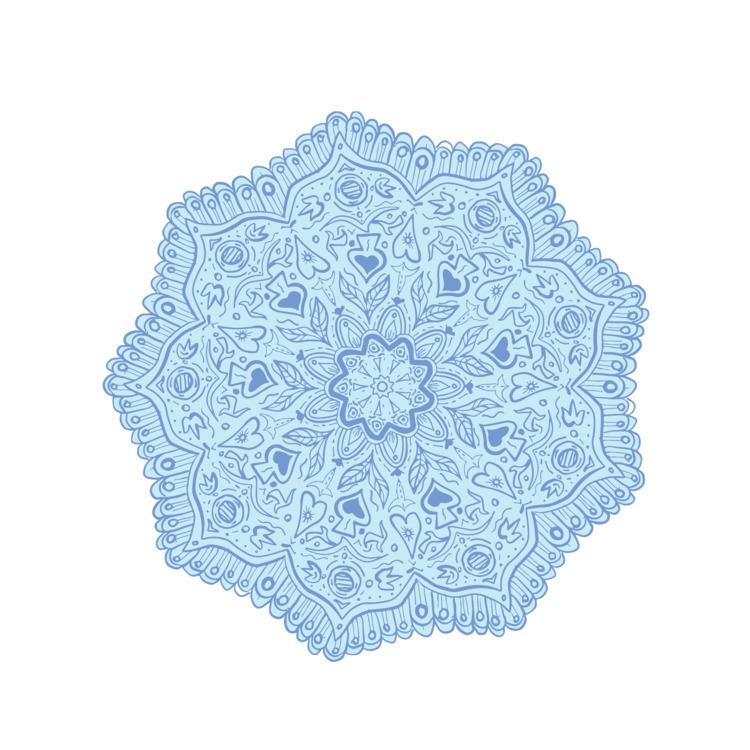 Flower, Mandala, retro, illustration - patrimonio | ello