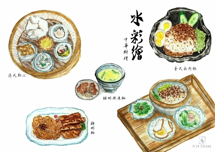 love sincerer food!~ - gouache, painting - plyncheong | ello