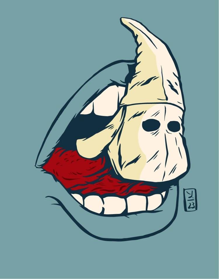 Speaking Hate - illustration - thomcat23   ello