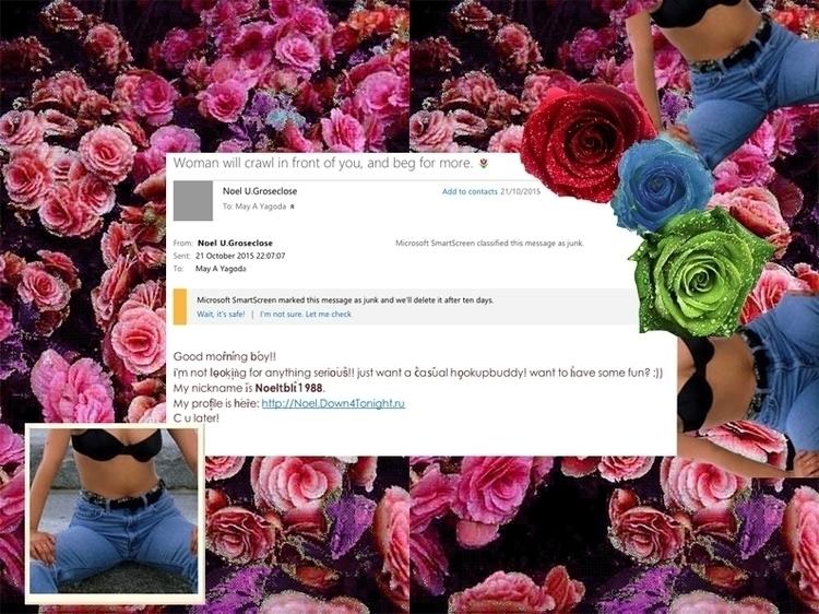 Women Crawl - digital, collage, spam - mayayagoda | ello
