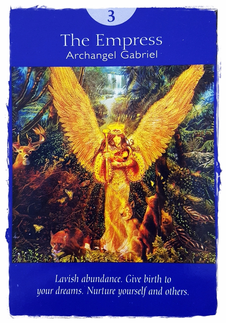 Angel Tarot ~ Aug 17 - ArchangelGabriel - speedykitty | ello